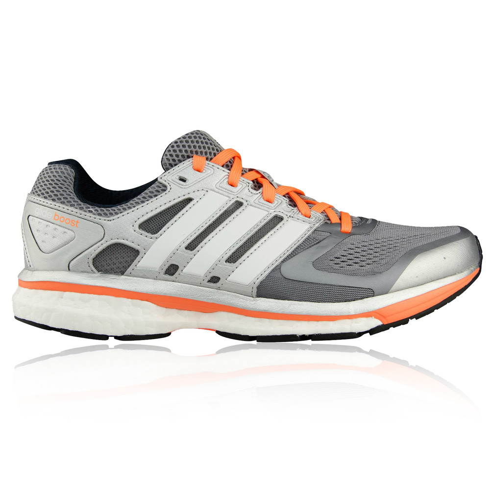 Adidas Supernova Glide 6 Womens Silver Sneakers Road ...