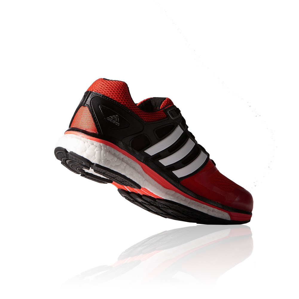 adidas supernova glide 6 boost mens red black running sports shoes trainers ebay. Black Bedroom Furniture Sets. Home Design Ideas