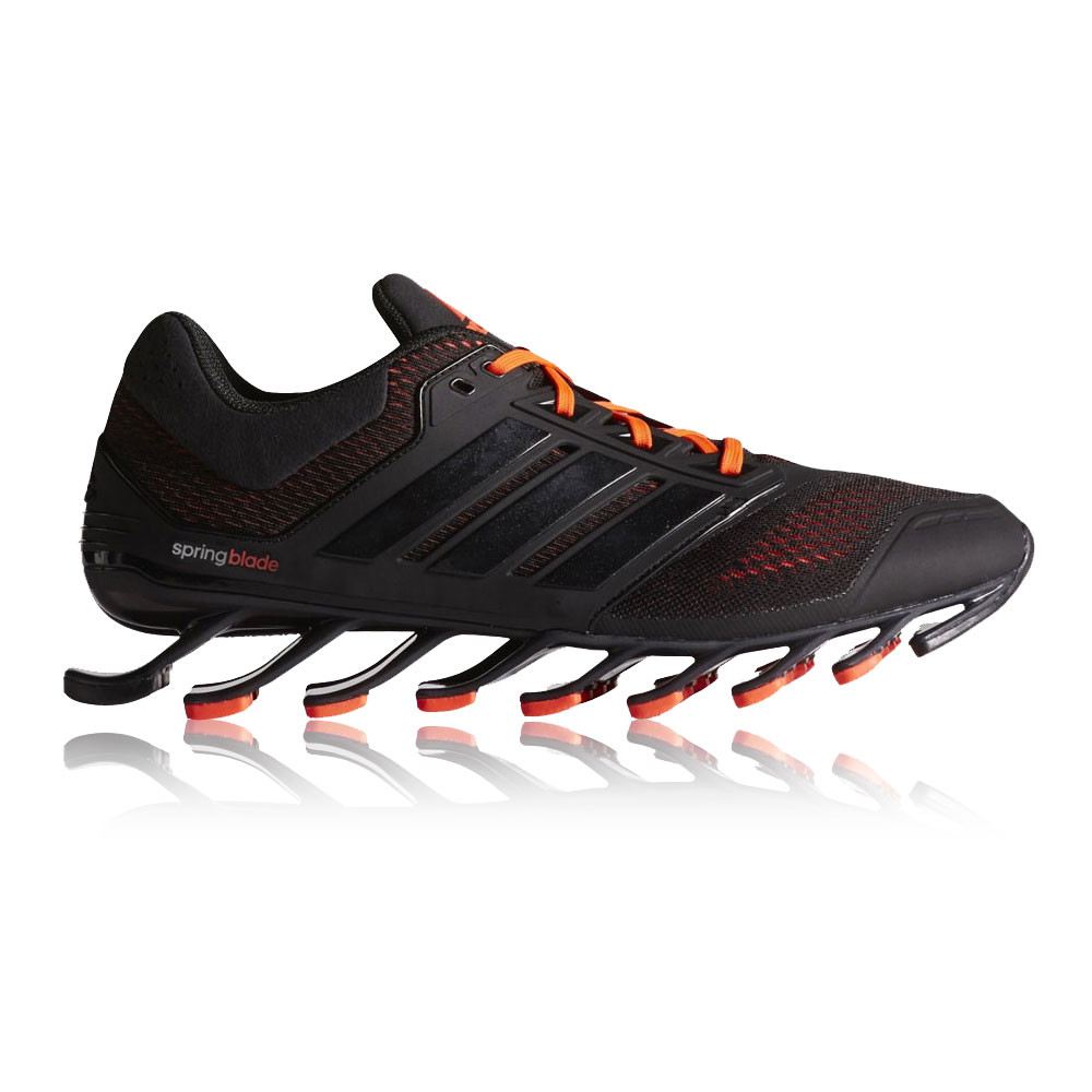 adidas springblade drive mens black sneakers cushioned