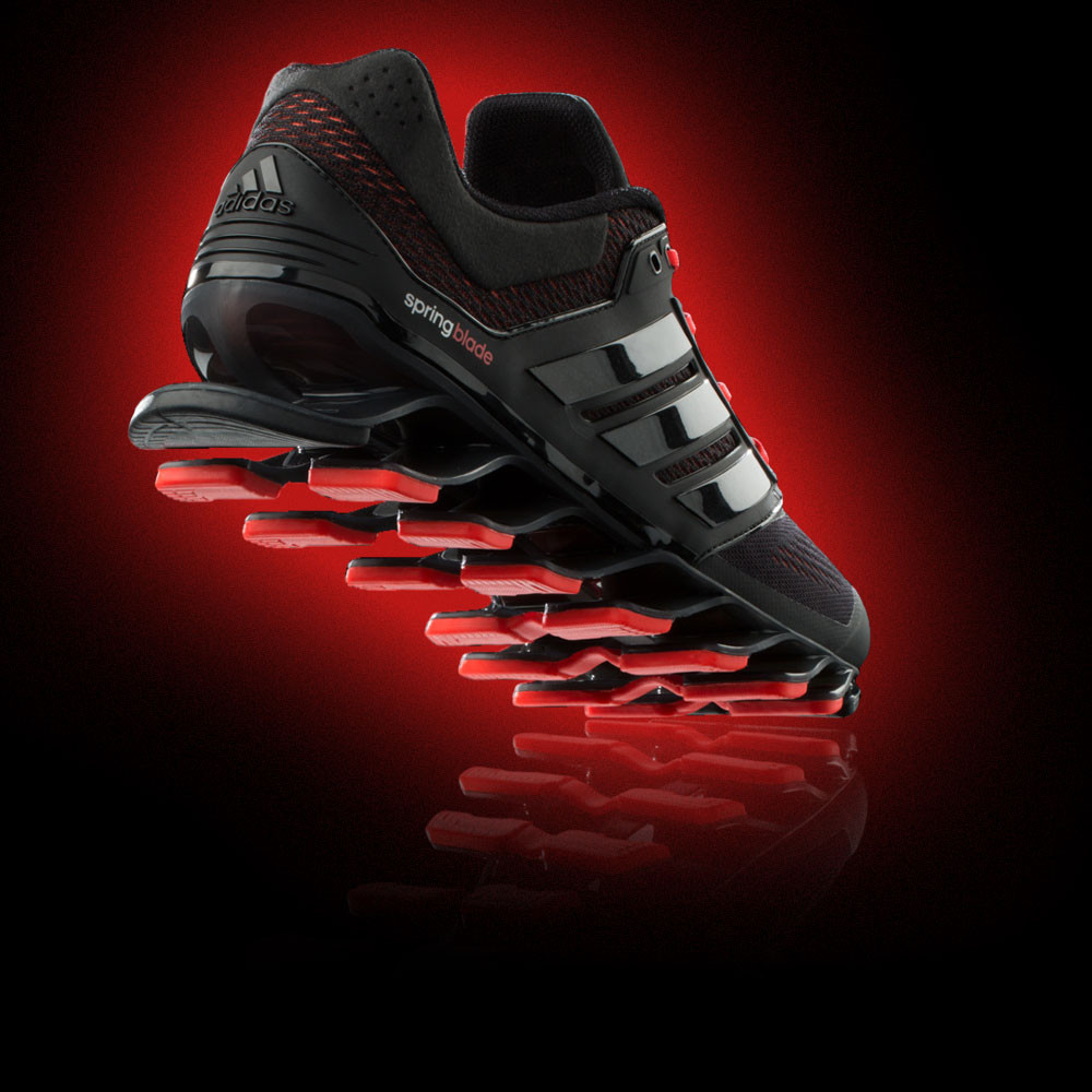 outlet store e39ff 62e85 promo code adidas springblade drive 2 black running shoes uk ...