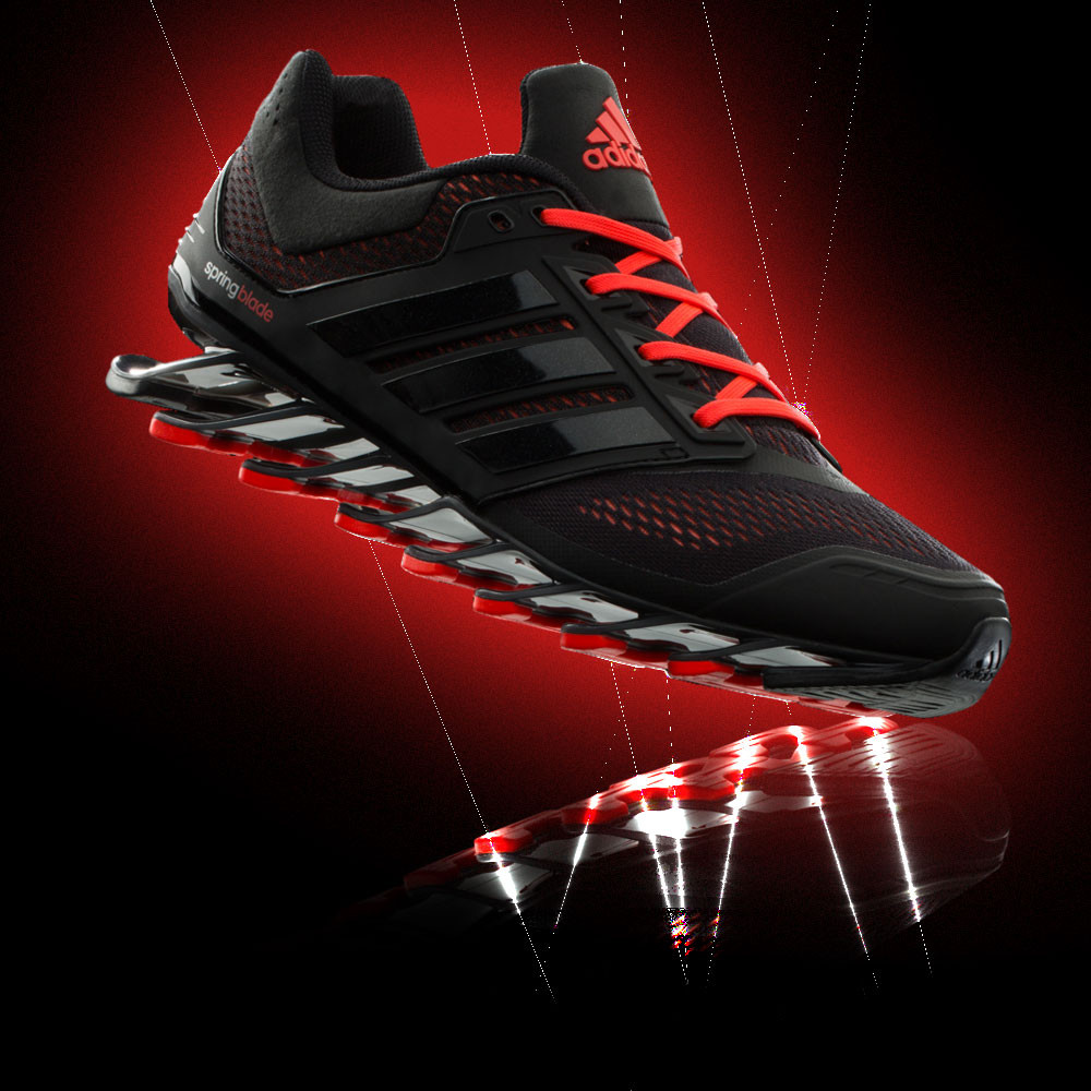 the latest 99a76 0638b ... CORE BLACK RED D73957 SIZE 13  adidas Springblade Drive Mens Black  Sneakers Cushioned Running Sports Shoes