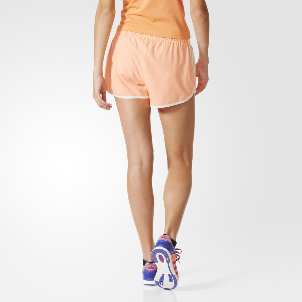 adidas m10 3 stripes damen shorts kurze hose laufhose. Black Bedroom Furniture Sets. Home Design Ideas