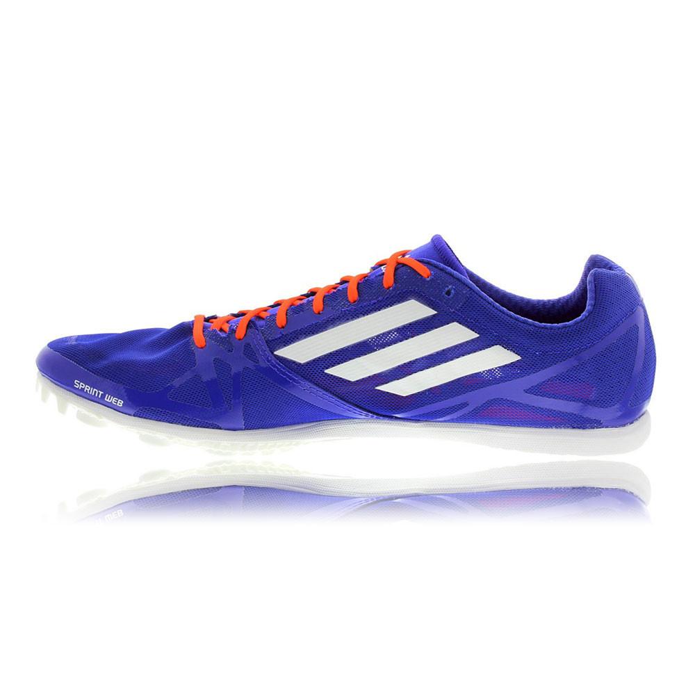 adidas adizero avanti 2 mens blue athletic running track