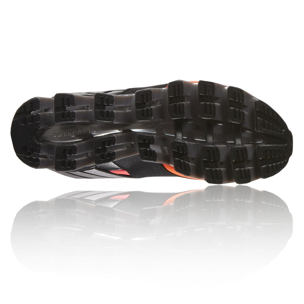 adidas springblade solyce mens red black running sports shoes