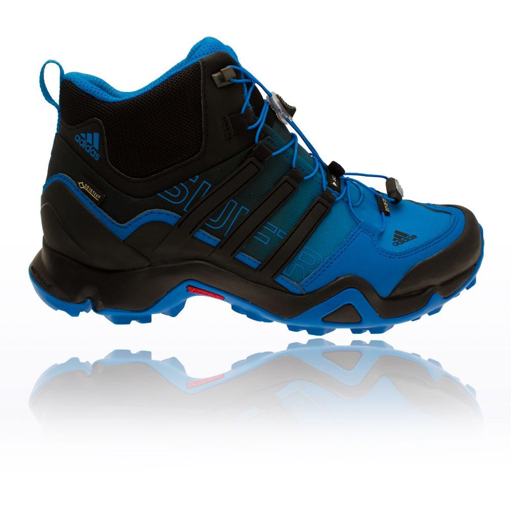 Adidas Terrex Swift R Mid Mens Blue Black Gore Tex