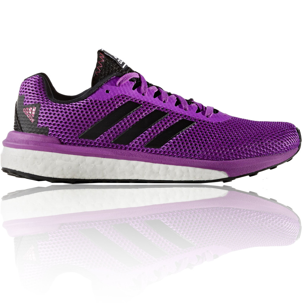 Adidas Vengeful Womens Purple Black Sneakers Running
