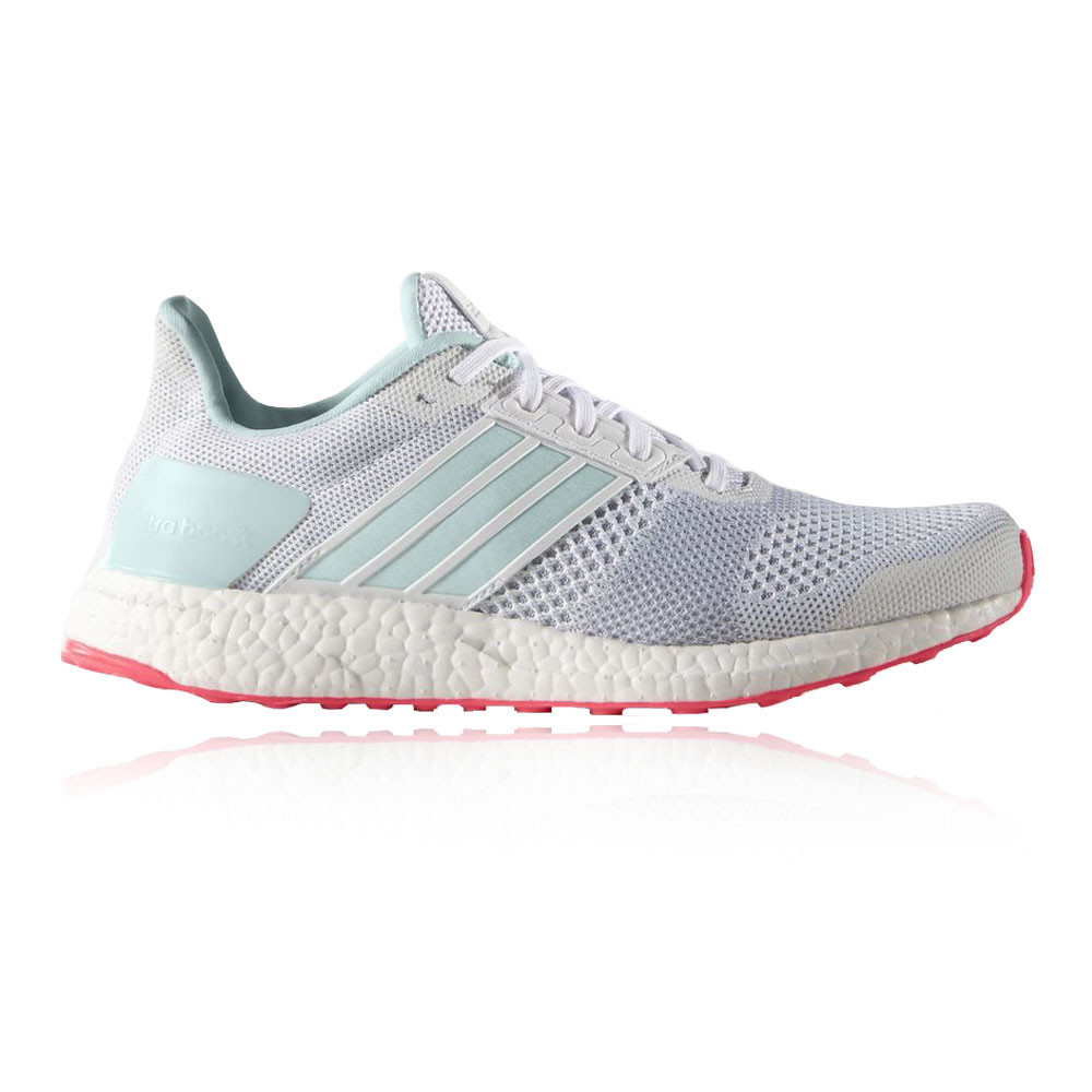 Adidas Ultra Boost ST Womens White Sneakers Running Sports