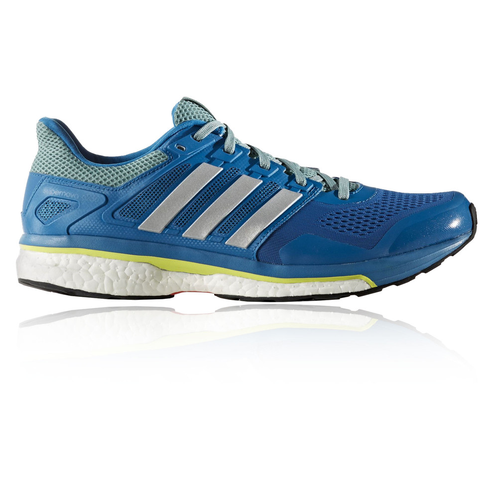 Adidas Supernova Glide 8 Mens Blue Sneakers Running Road ...