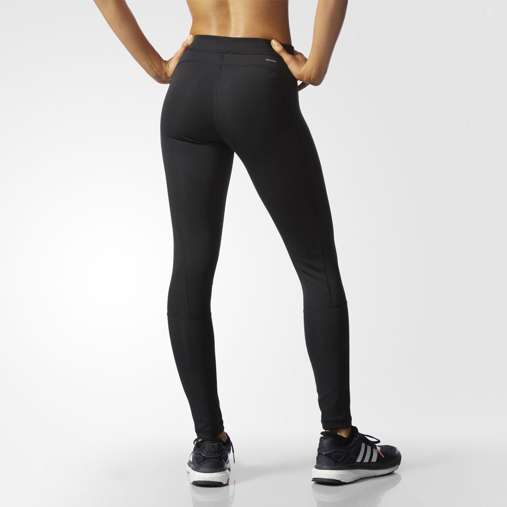 Adidas Tech Fit Womens Black Climalite Running Gym Long Tights Bottoms Pants   eBay