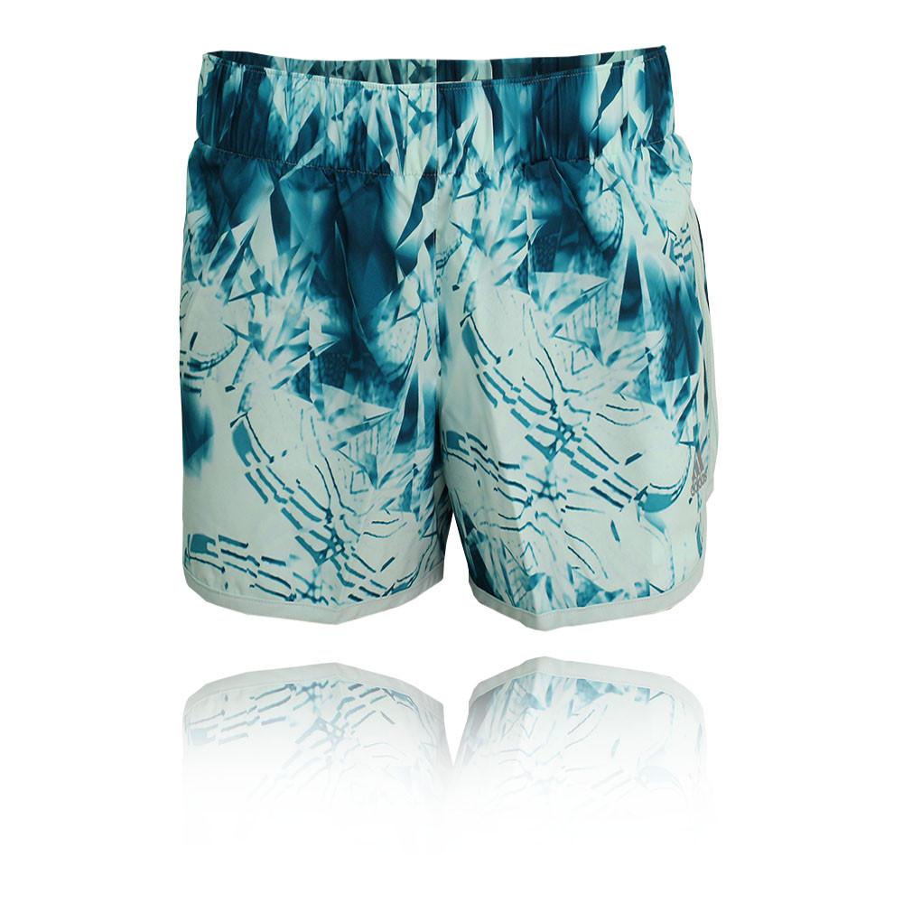 adidas m10 damen 4 laufhose kurze hose jogging shorts. Black Bedroom Furniture Sets. Home Design Ideas