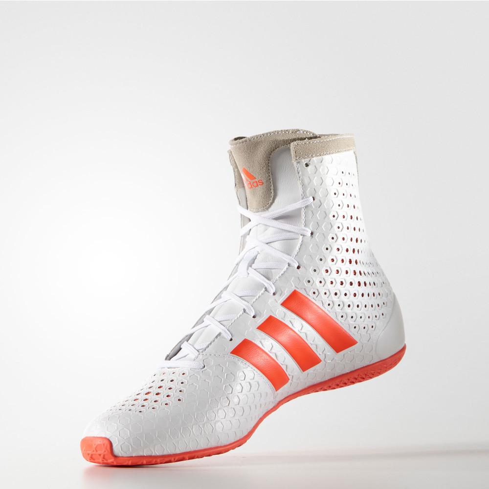 Adidas Ko Legend Boxschuhe 16.1 Unisex Sport Schuhe Stiefel Boxschuhe Legend Boxstiefel Weiß ef4e7a