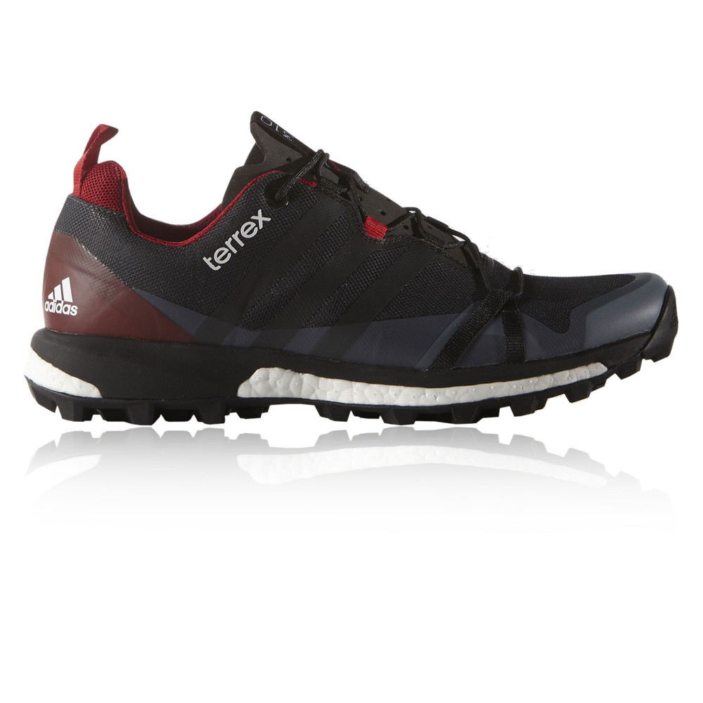 adidas terrex agravic mens black cushioned walking