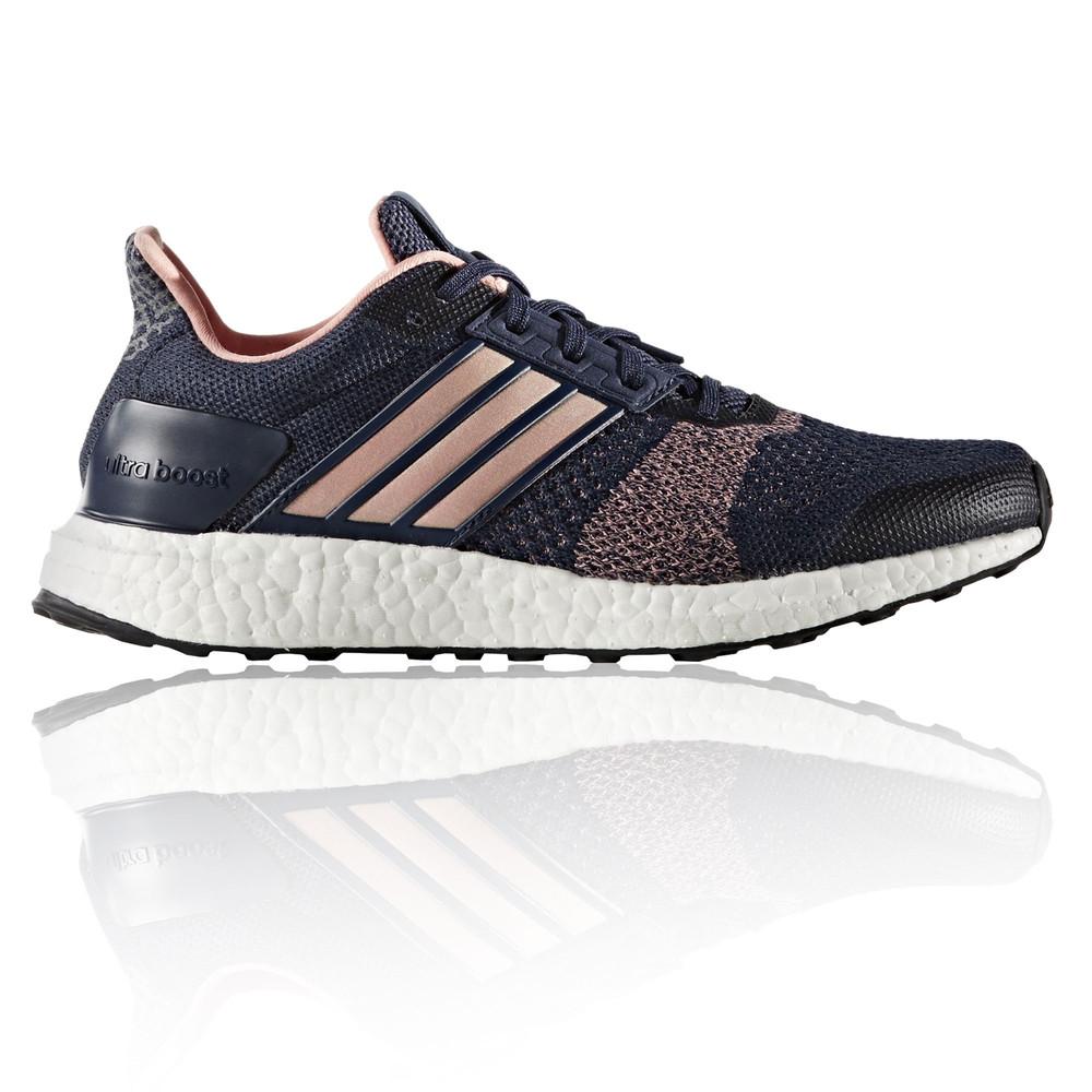 Adidas Ultra Boost ST Womens Blue Support Running Sports