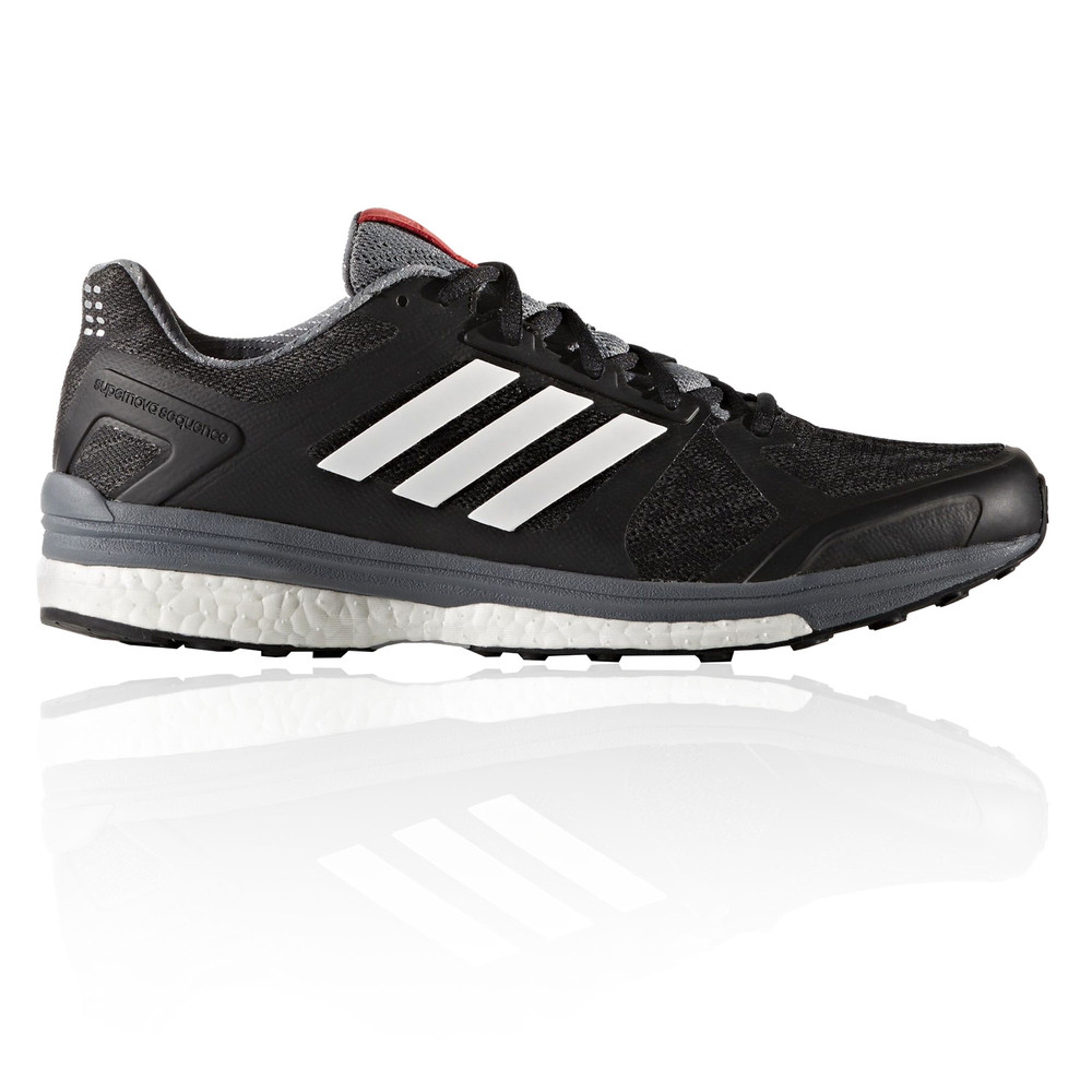 adidas supernova sequence 9 mens black support running. Black Bedroom Furniture Sets. Home Design Ideas