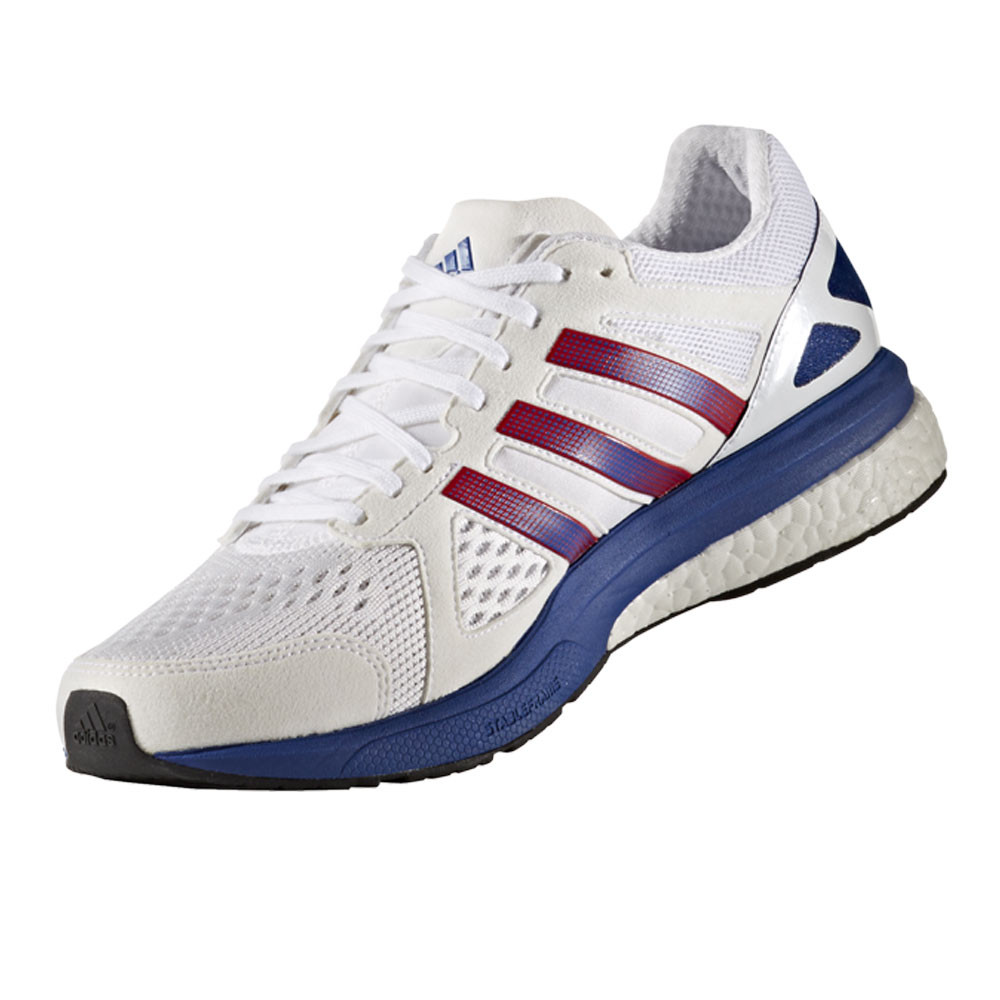 Adidas Adizero Tempo AKTIV Mens White Sneakers Running