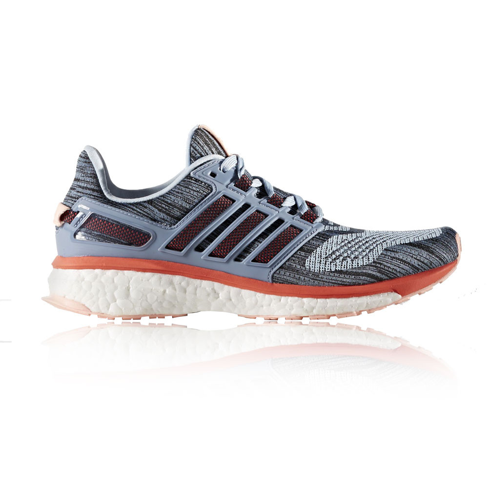 Adidas Energy Boost 3 Womens Grey Blue Sneakers Running