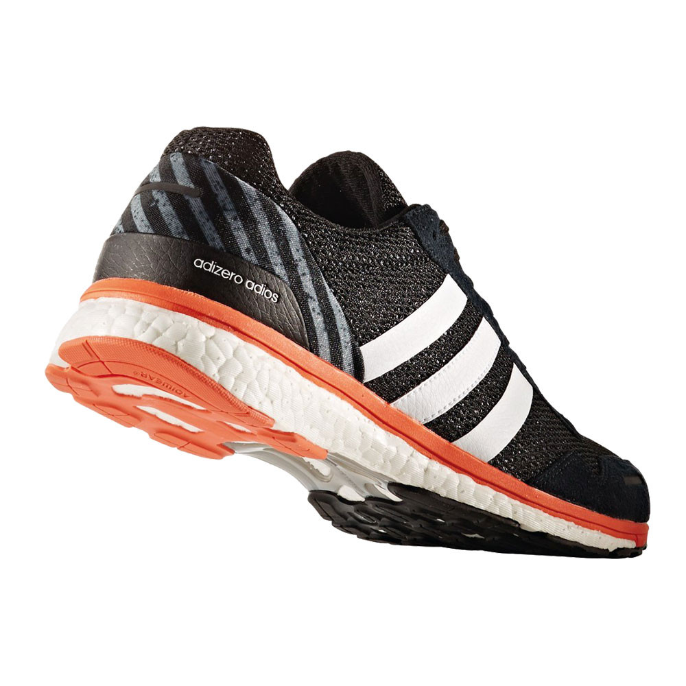 Adidas Adizero Adios Mens Orange Black Running Sports