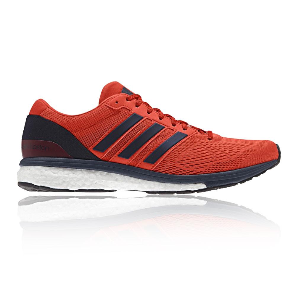 Adidas Adizero Boston 6 Mens Orange Blue Sneakers Running