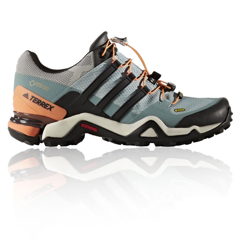 adidas terrex fast r gtx damen outdoor schuhe trekkingschuhe wanderschuhe blau ebay. Black Bedroom Furniture Sets. Home Design Ideas