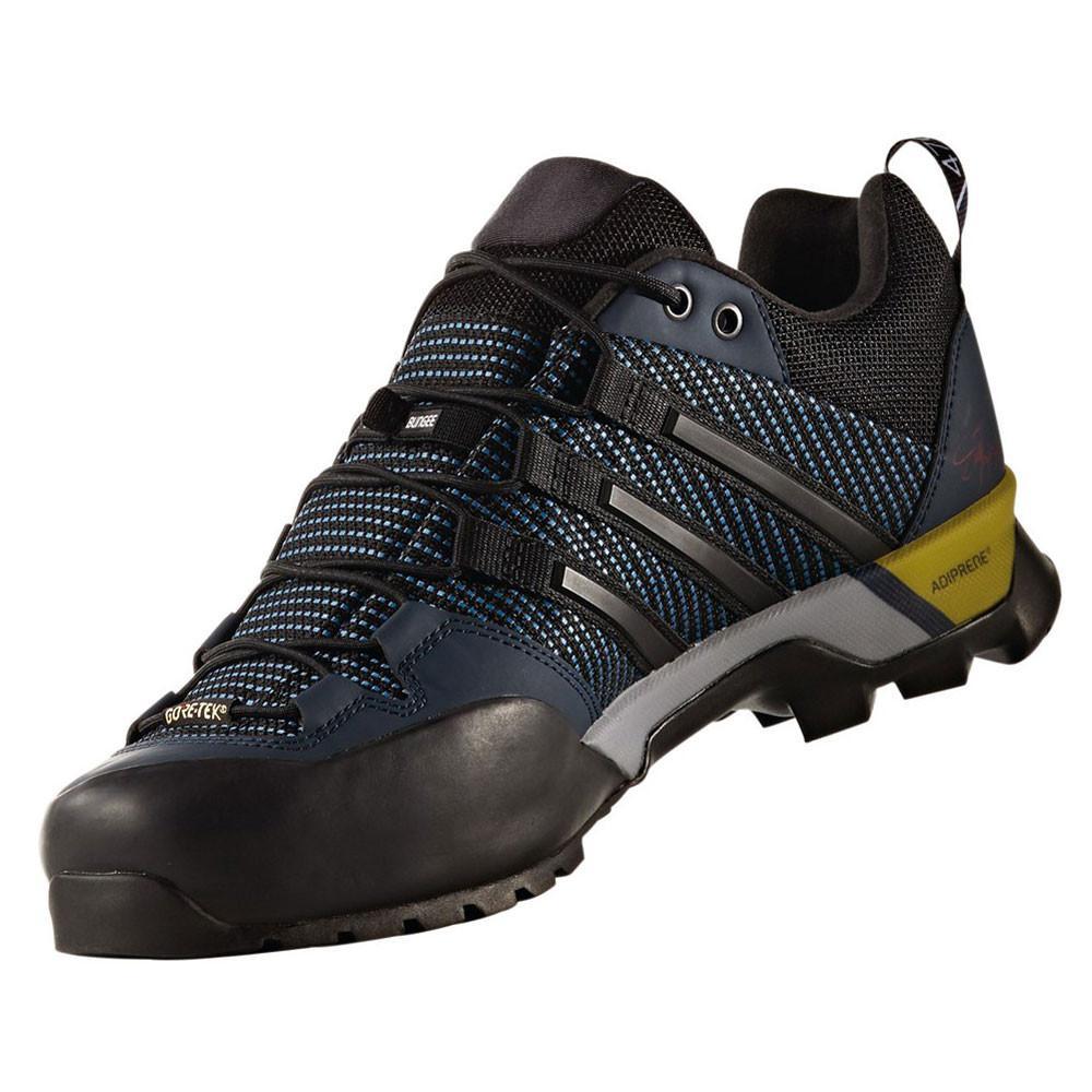 Black Blue Hiking Shoes Waterproof