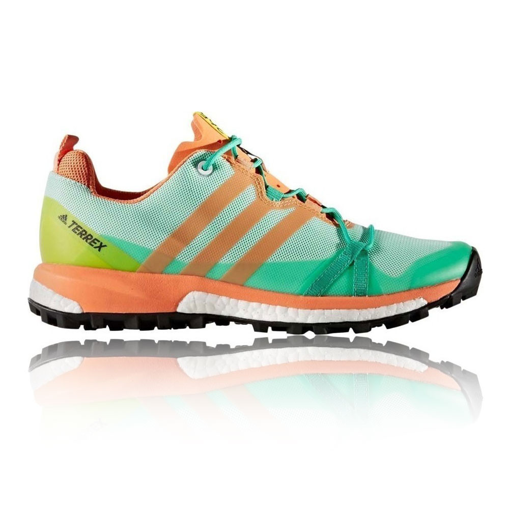Orange And Green Running Shoes