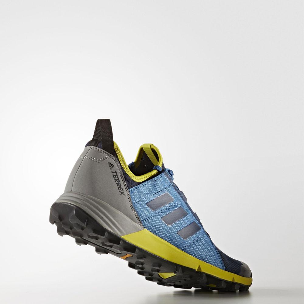 adidas terrex agravic speed mens blue running sports
