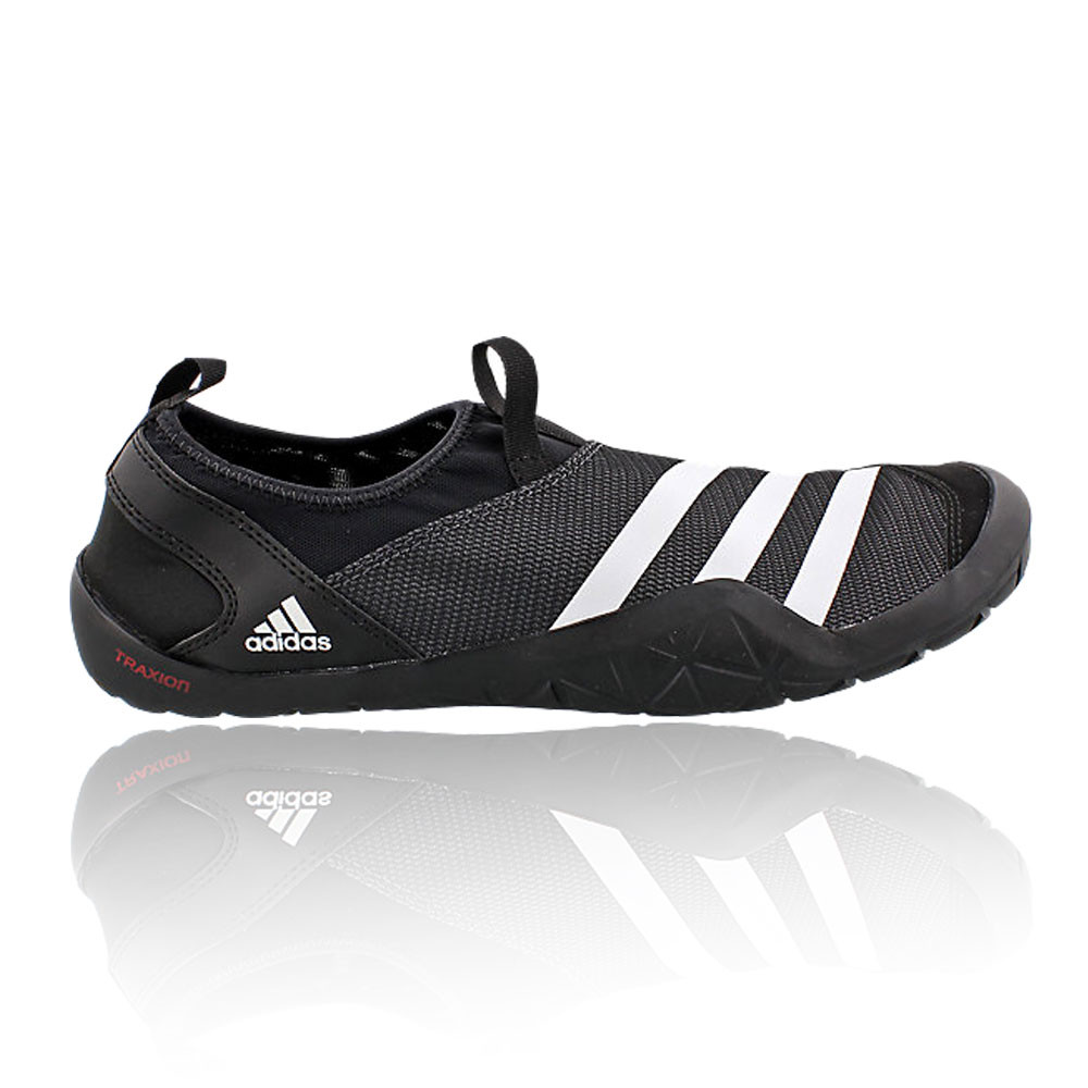 adidas jawpaw mens black climacool slip on outdoors. Black Bedroom Furniture Sets. Home Design Ideas
