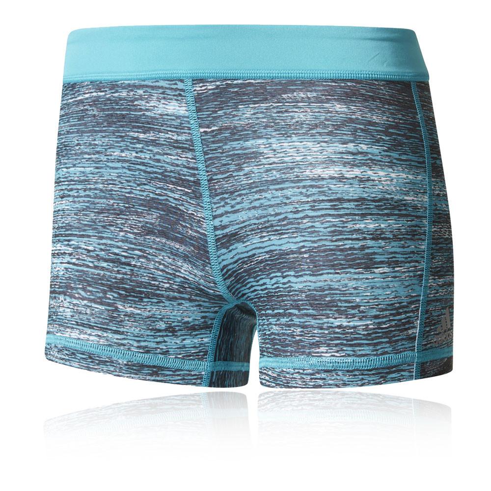 adidas techfit 3 macrohth damen shorts laufhose kurze hose. Black Bedroom Furniture Sets. Home Design Ideas