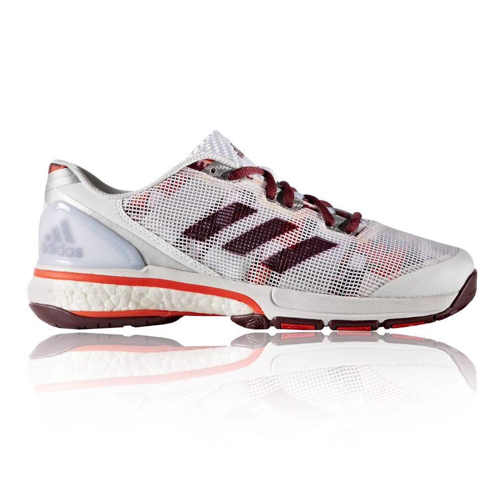 the latest c7f11 68069 Adidas Stabil Stabil Stabil Boost 20Y Femmes Blanc Handball Indoor Sport  0854d4