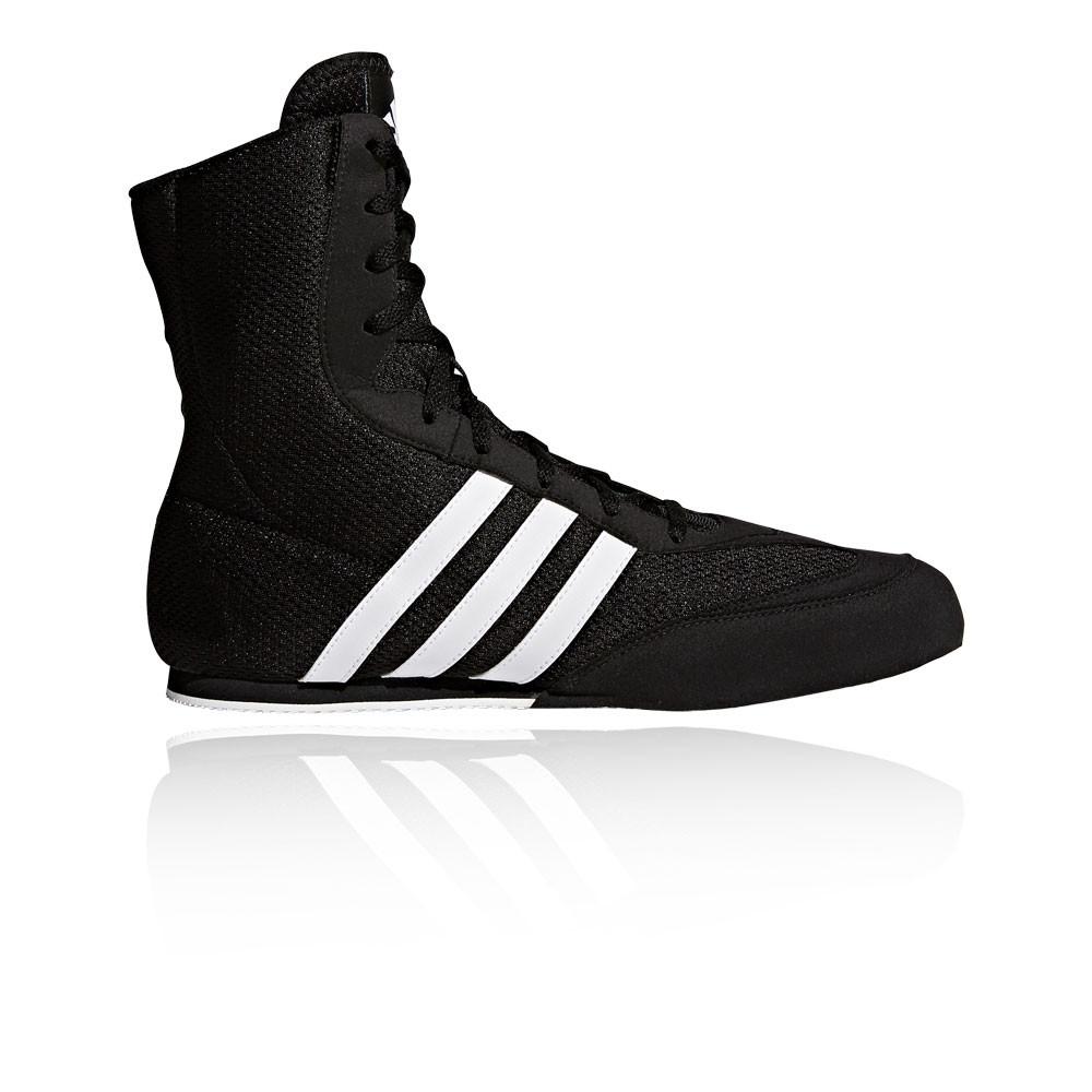 adidas-Box-Hog-Uomo-Nero-Pugilato-Scarpe-da-