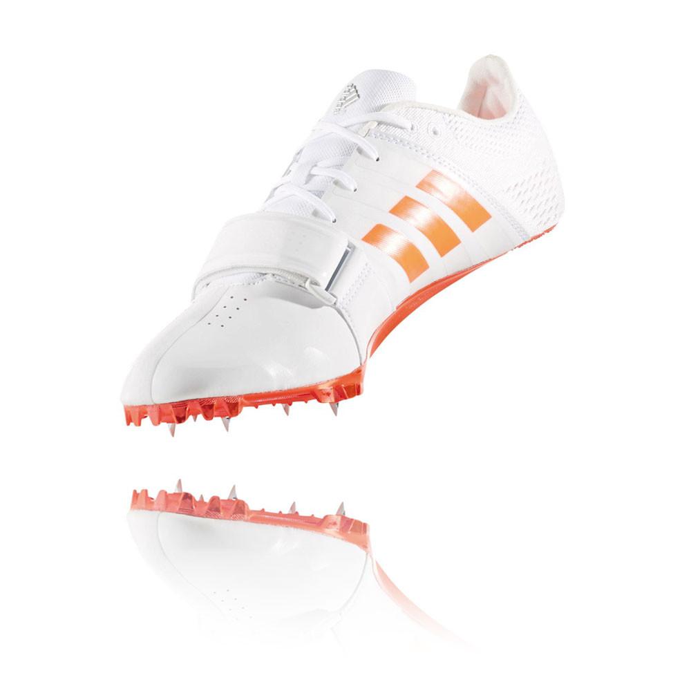 Adidas adizero spitzen accelarator männer weiße laufbahn spitzen adizero schuhen. b7ecf3