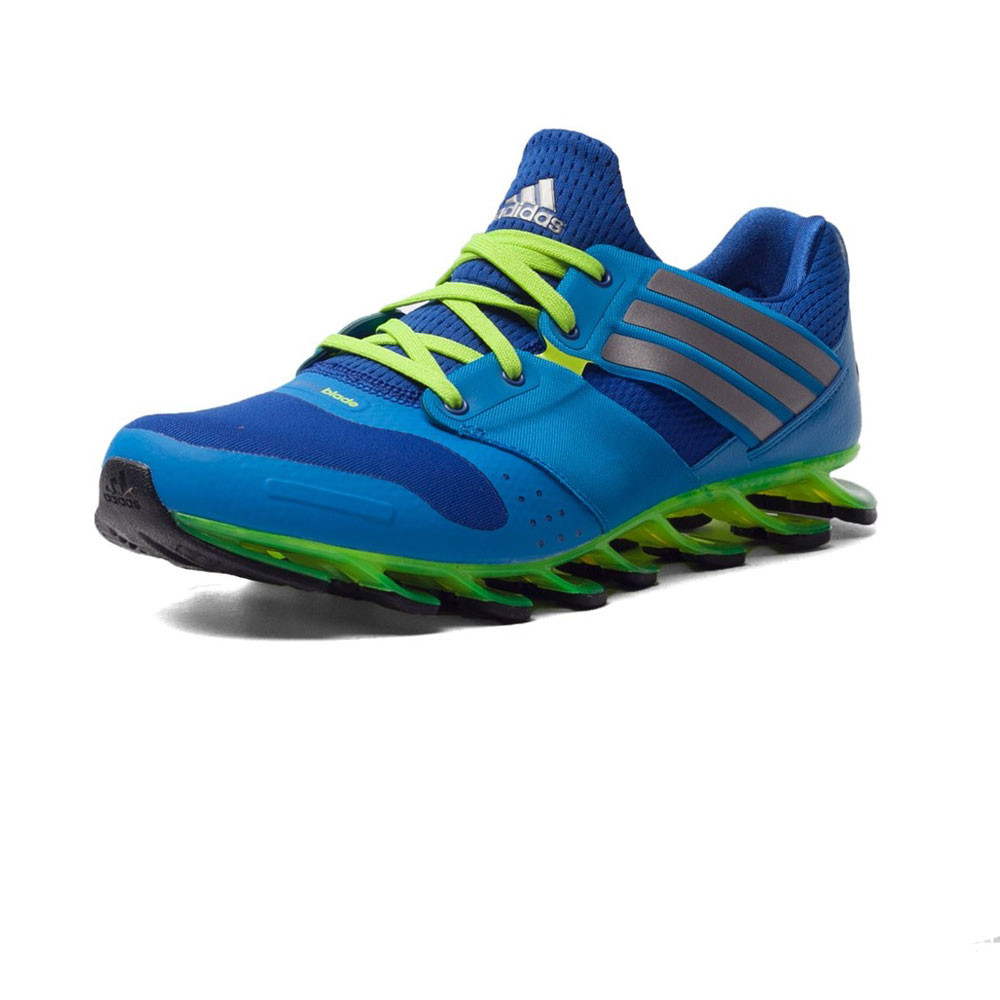adidas springblade solyce herren laufschuhe jogging turnschuhe sport schuhe blau ebay. Black Bedroom Furniture Sets. Home Design Ideas