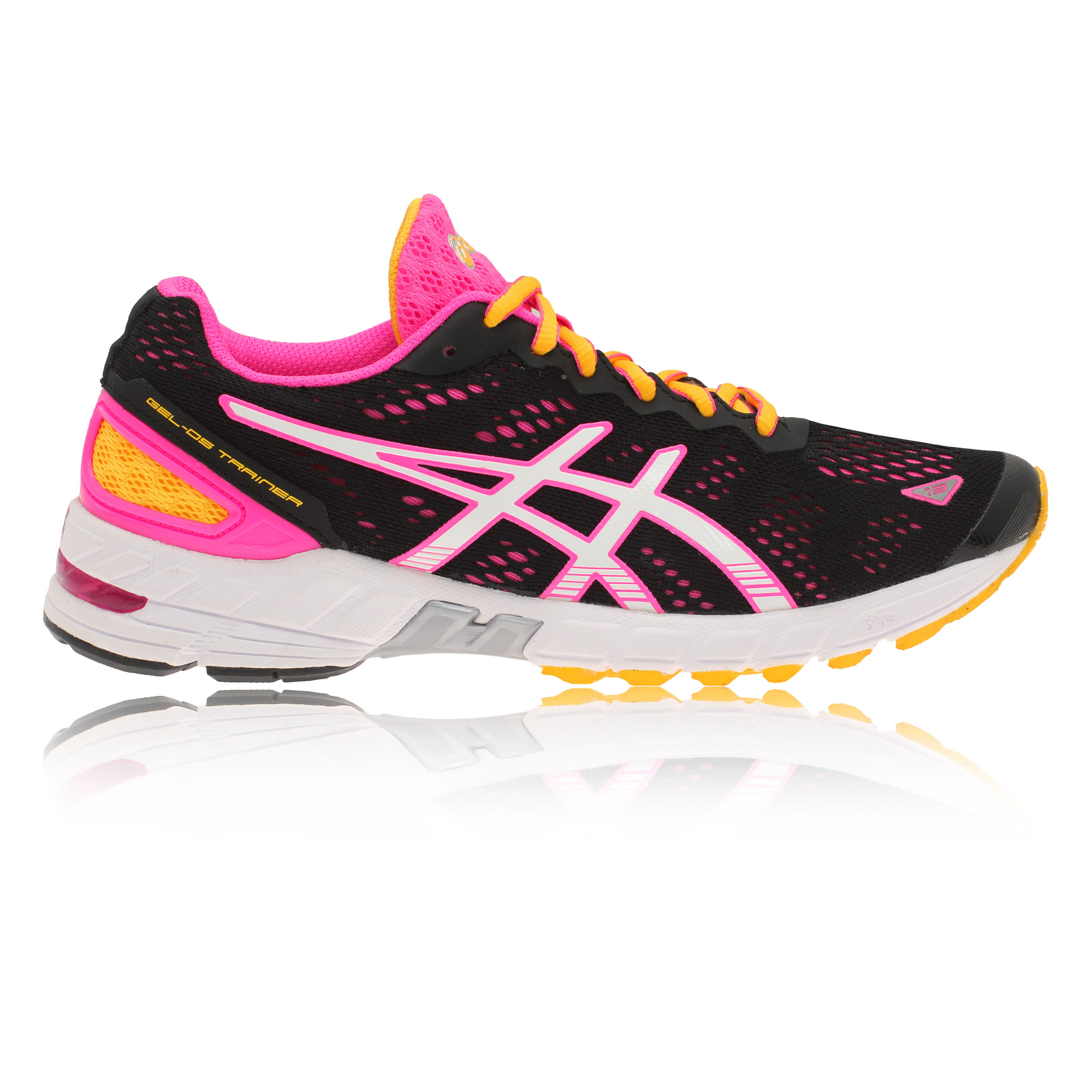 ASICS GEL-DS TRAINER 19 Womens Black Support Road Racing