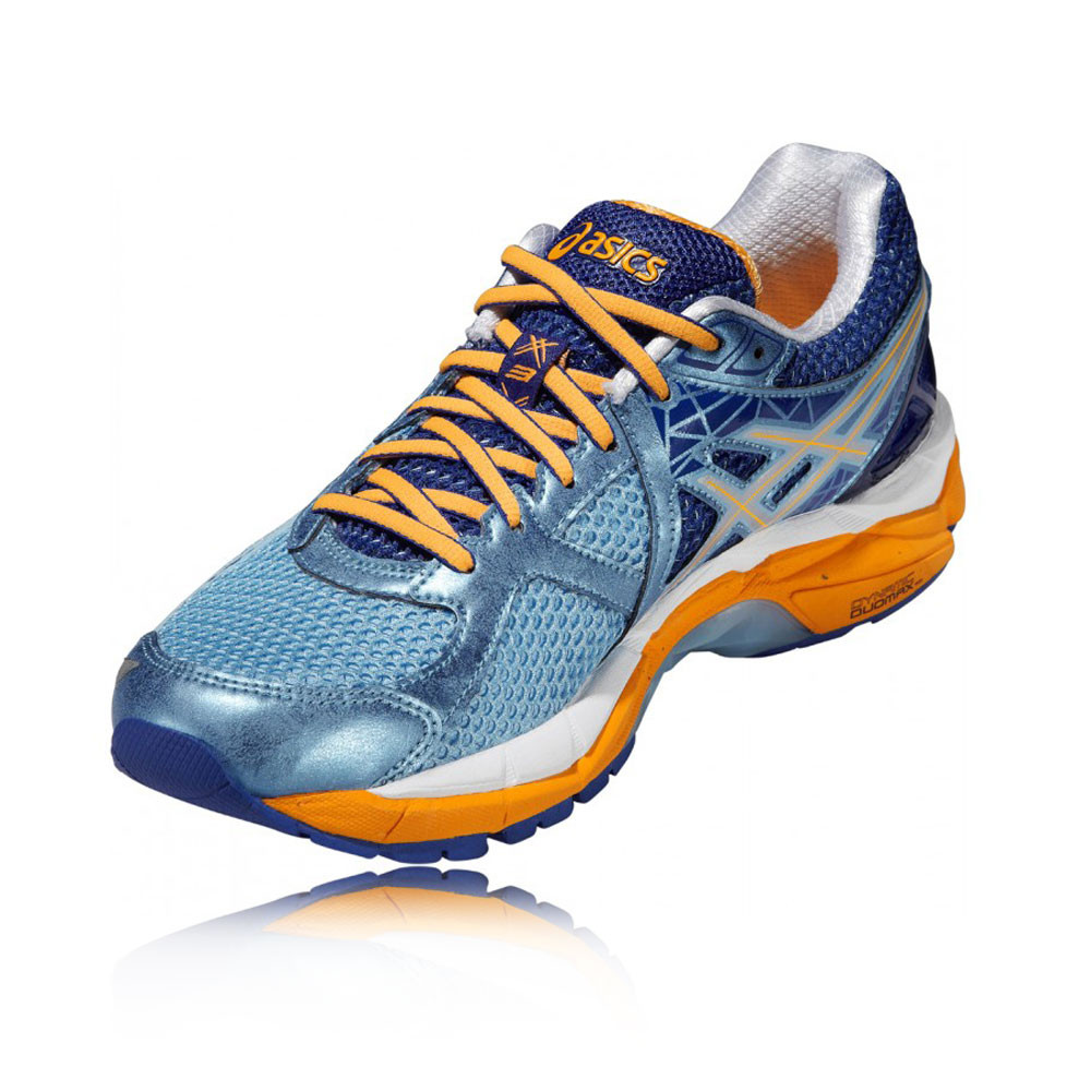 ASICS GT-2000 3 Womens Blue Orange Support Running Sports