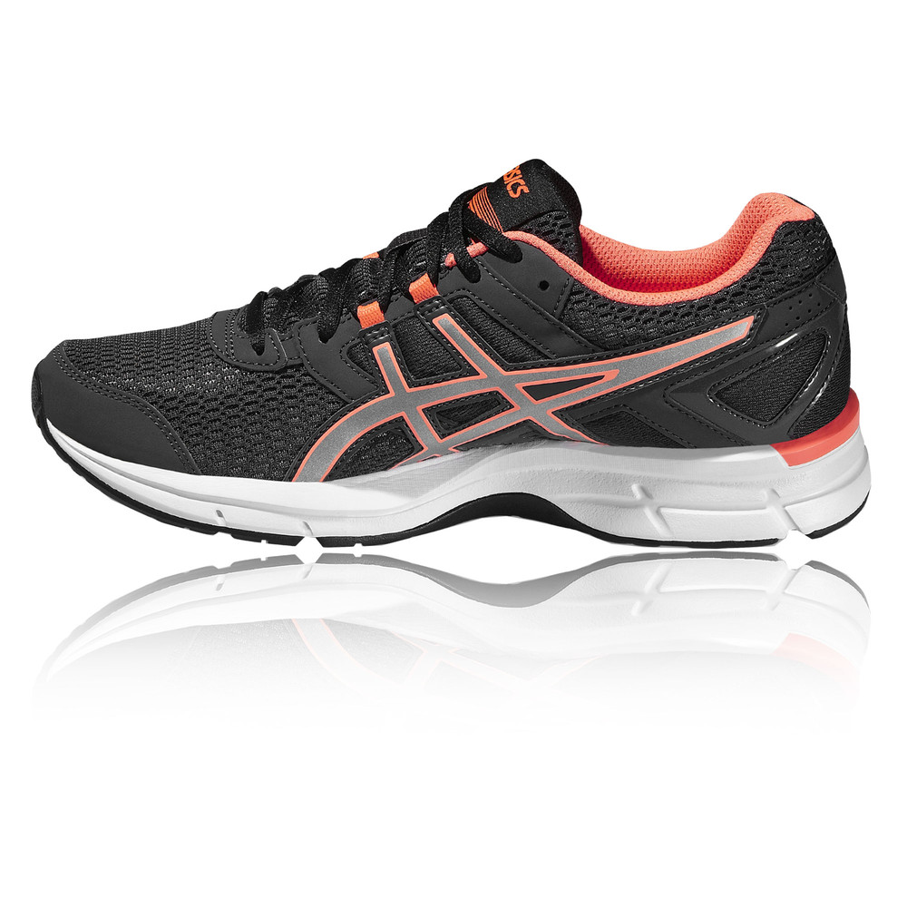 ASICS Gel-Galaxy 8 Womens Black Cushioned Running Road ...