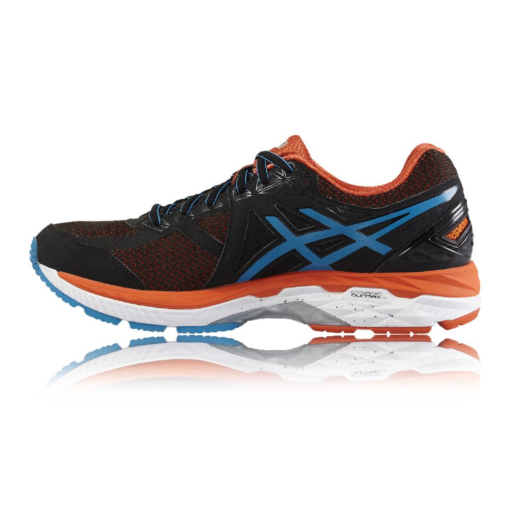 asics gt 2000 4 mens orange black support running sports shoes trainers ebay. Black Bedroom Furniture Sets. Home Design Ideas