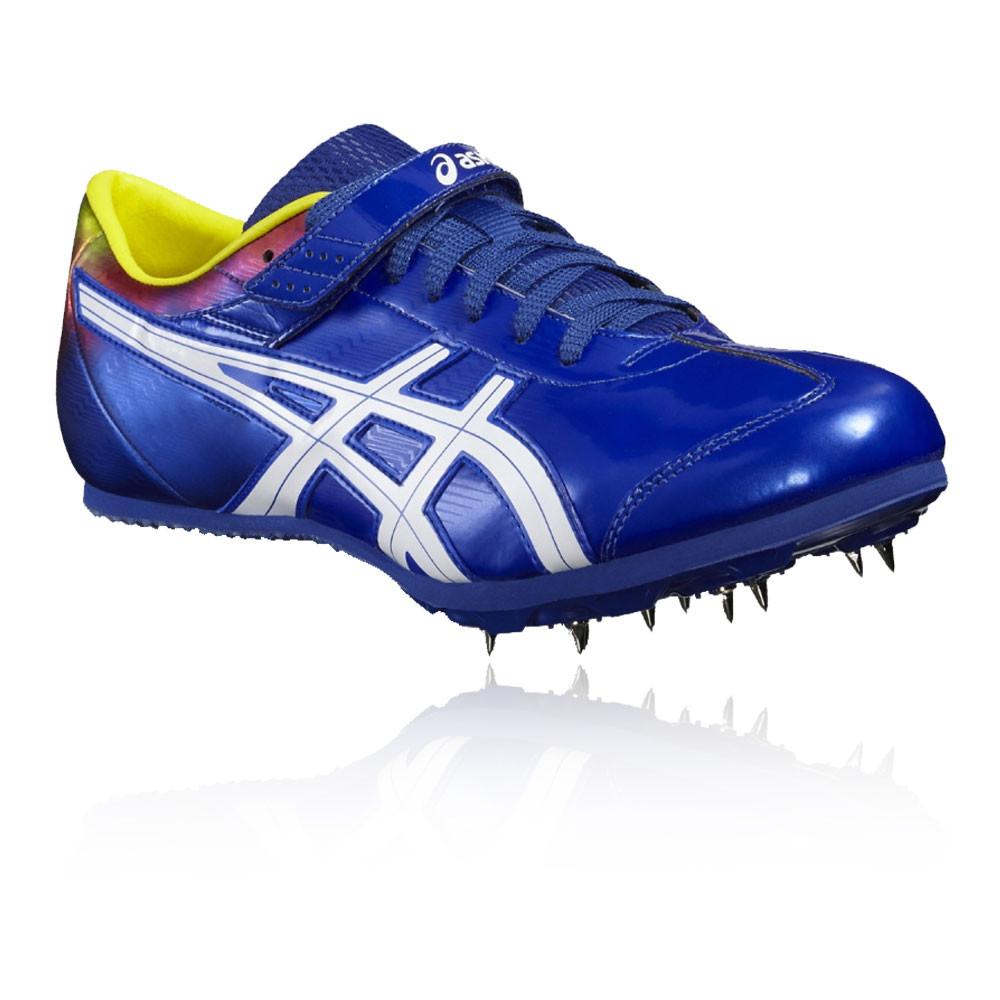 asics jump pro unisex blue running sports shoes