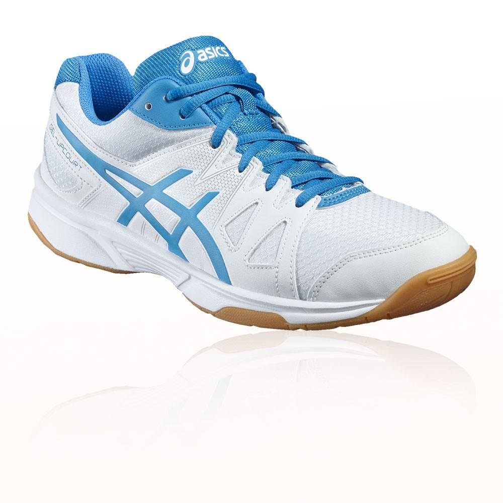 Blue Asics Squash Shoes