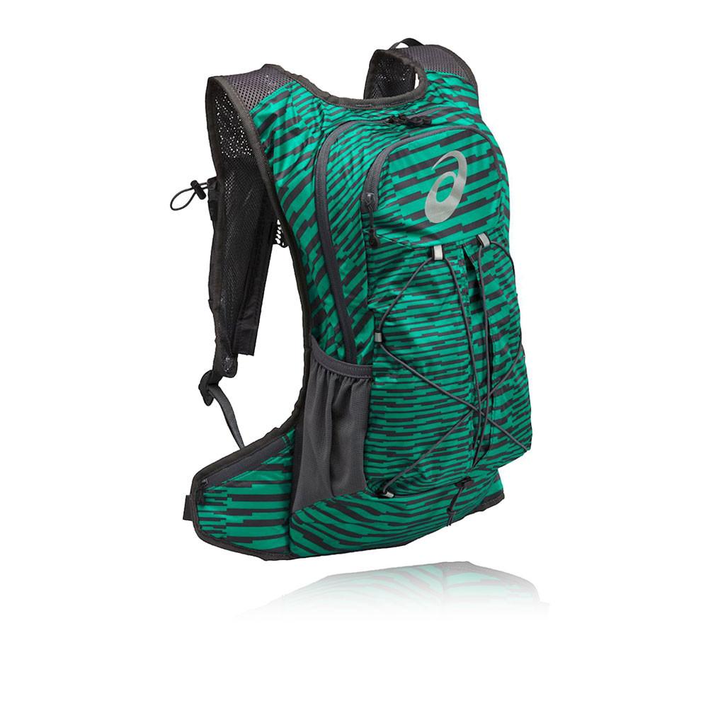 Asics Unisex Green Lightweight Running Training Backpack