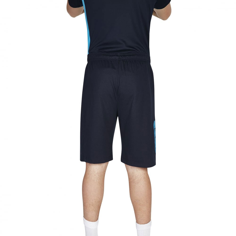 canterbury vapodri herren baumwolle trainingshose kurze hose sport shorts blau ebay. Black Bedroom Furniture Sets. Home Design Ideas