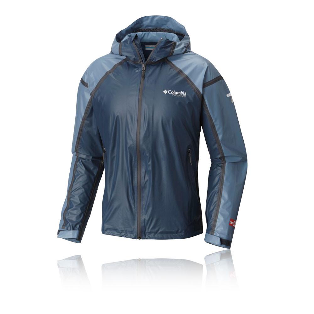 Columbia Outdry Ex Gold Mens Blue Hoody Long Sleeve Hoodie Hooded Camping Jacket | EBay