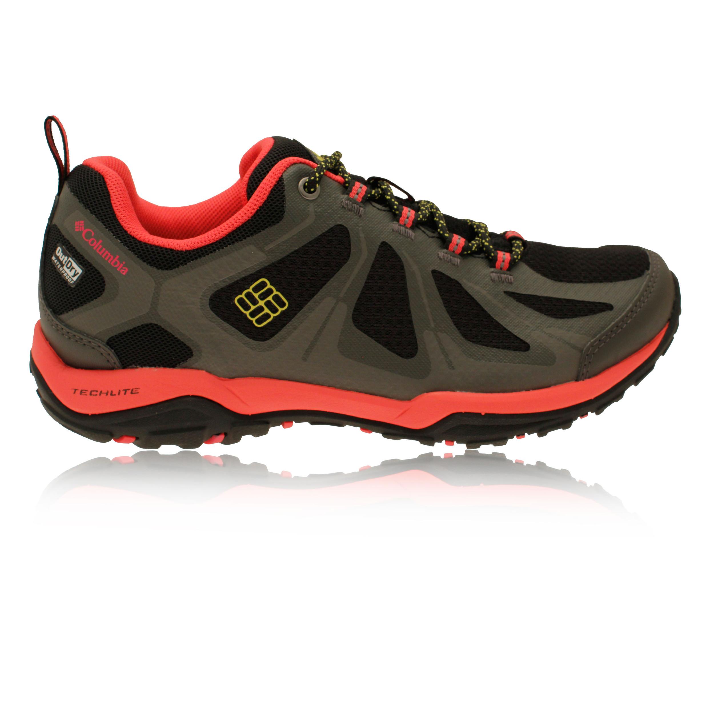 Columbia-Peakfreak-Xcrsn-Ii-Femmes-Rose-Noir-Impermeable-Running-Chaussures