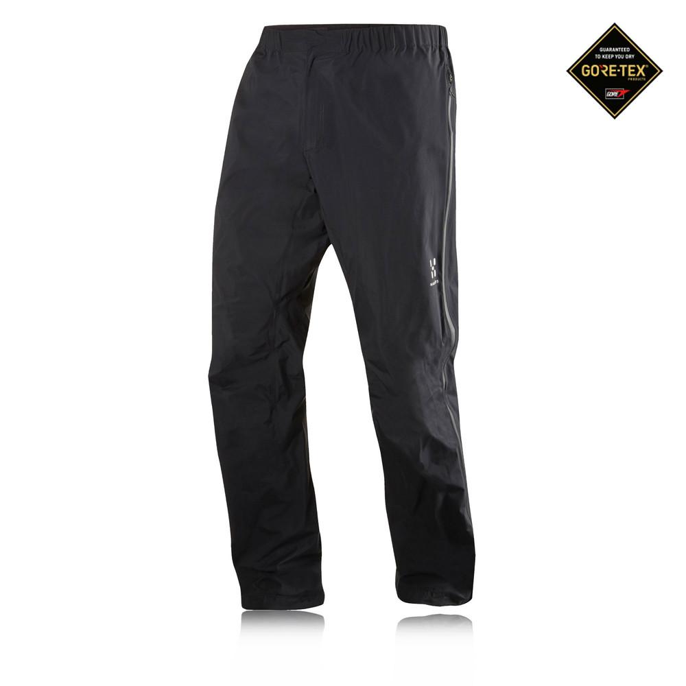Haglofs-L-I-M-III-Q-Uomo-Nero-Traspirante-Allenamento-Corsa-Sport-Pantaloni