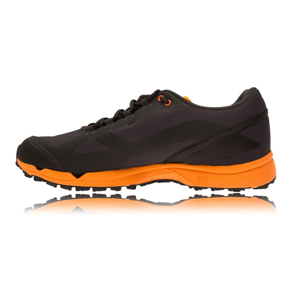 Haglofs Gram Comp II Herren Trail Laufschuhe Jogging Sport Schuhe Grau Orange