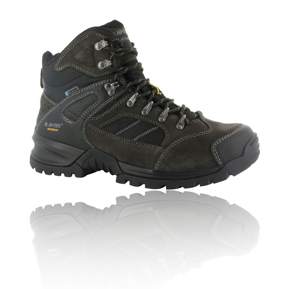 hi tec mount diablo i mens black waterproof walking hiking