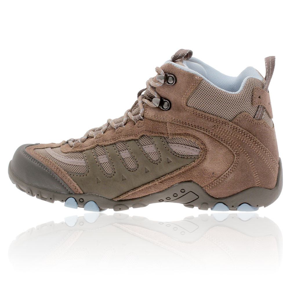 hi tec penrith mid womens brown waterproof outdoor trail