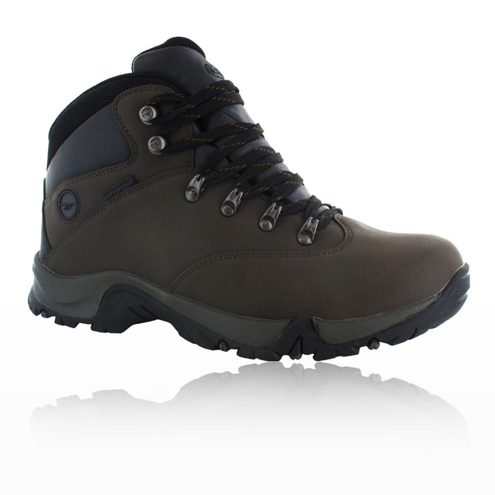 Wonderful  Mid Buckle Womens Brown Waterproof Walking Hiking Boots Shoes  EBay