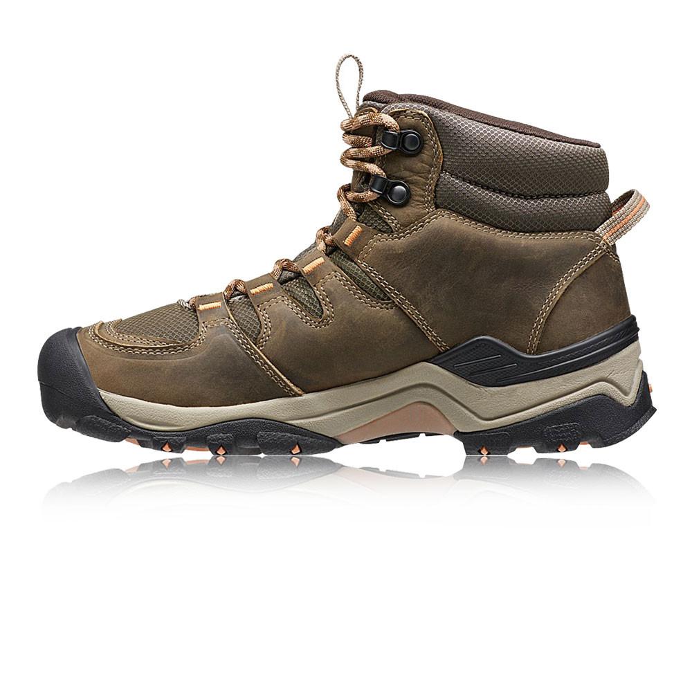Keen-Gypsum-II-Mid-Mujer-Marron-Impemeable-Caminar-Hiking-Botas-Zapatos-Calzado