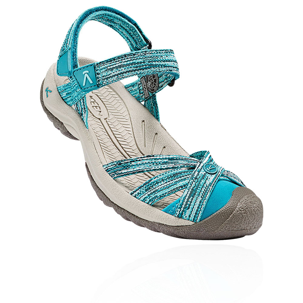 keen bali strap damen trekkingsandalen wanderschuhe outdoor sandalen blau ebay. Black Bedroom Furniture Sets. Home Design Ideas