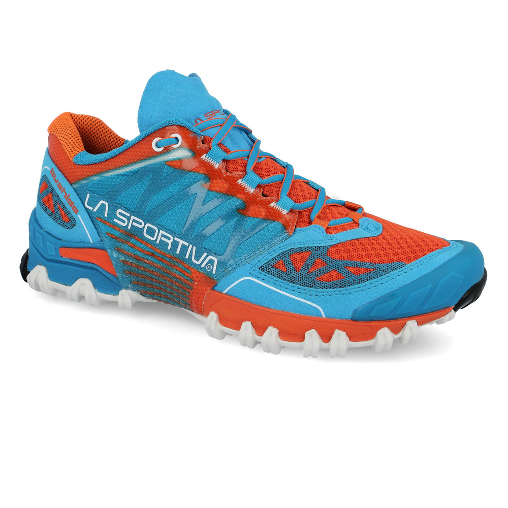 La Sportiva Bushido Mens Blue Trail Running Sports Shoes ...